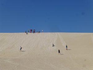 Sandboarding in Australien