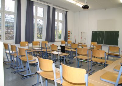 Klassenraum im Altbau