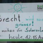 Plakat Einweihung Solaranlage