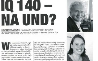 """IQ 140 – Na und?: Die Brecht-Schule im Magazin """"Szene Hamburg Schule 2017"""""""