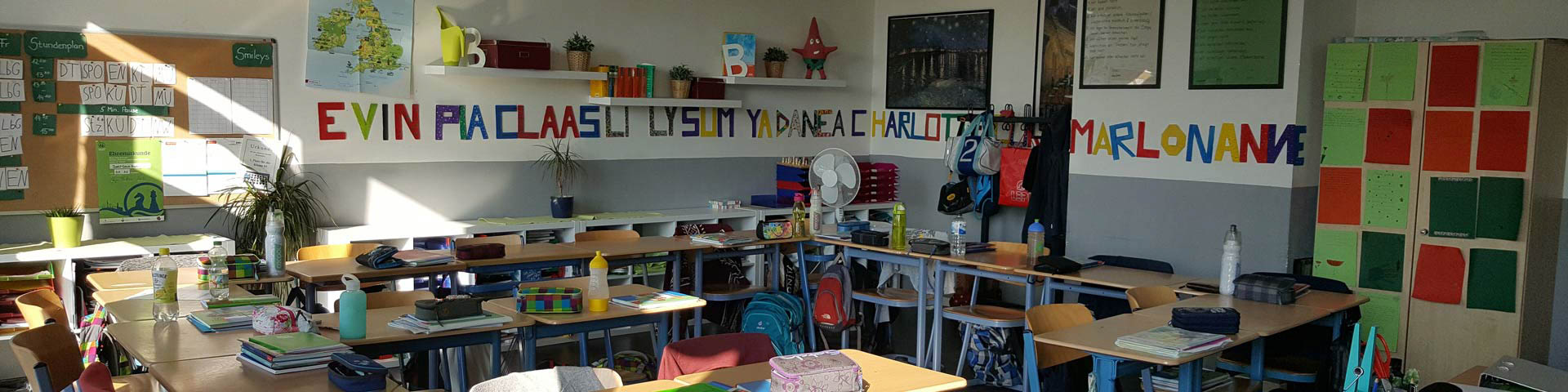Klassenraum Neubau Stadtteilschule