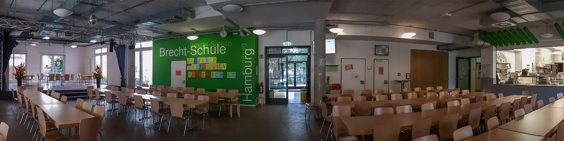 Aula der Brecht-Schule