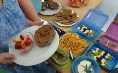 Gesunde Ernährung – NW-Unterricht in Klasse 5