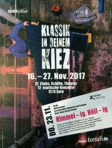 """Brecht-Schüler organisieren im Rahmen des TONALi Projekts ein Konzert im """"Klassik in deinem Kiez"""" Festival"""