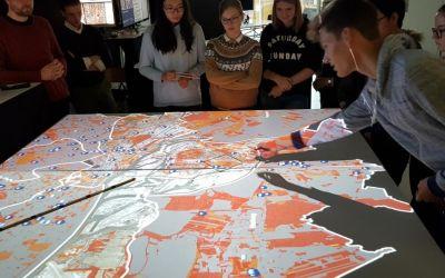 Besuch des Digital CityScienceLab in der HafenCity Universität