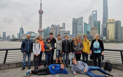 Brecht-SchülerInnen aus China zurück