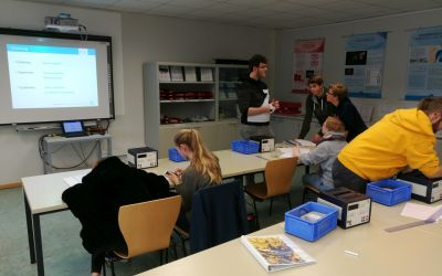 Besuch des Schülerlabors bei DESY zum Thema Radioaktivität