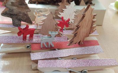 Weihnachstbasteln in der Grundschule