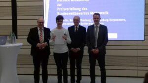 Zwei Preisträger im Bundeswettbewerb Mathematik