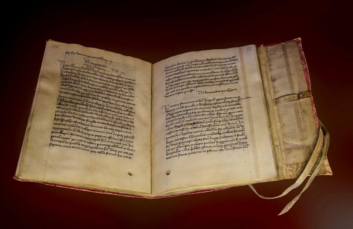 Buchbinden im Mittelalter - in Zeiten von Corona