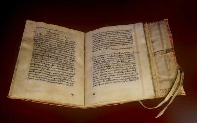 Buchbinden im Mittelalter – in Zeiten von Corona