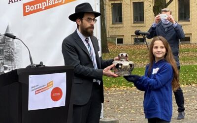 """""""Antisemitismus ist halt scheiße!"""". Ein Interview mit unserer Schülerin Eve im Dezember 2020"""